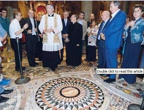 Restaurato un mosaico di San Marco