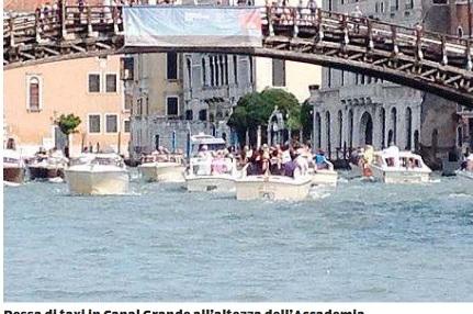 Traffico acqueo sempre più caotico