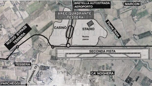 Rivoluzione a Tessera, vincono le proposte dell'aeroporto
