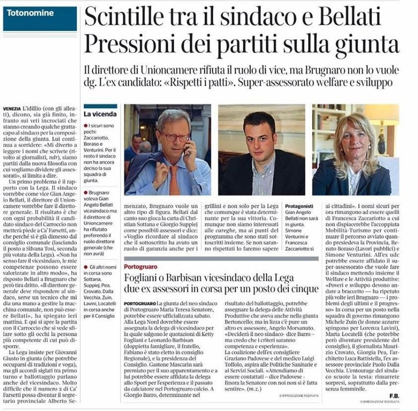 Brugnaro_giunta_previsioni