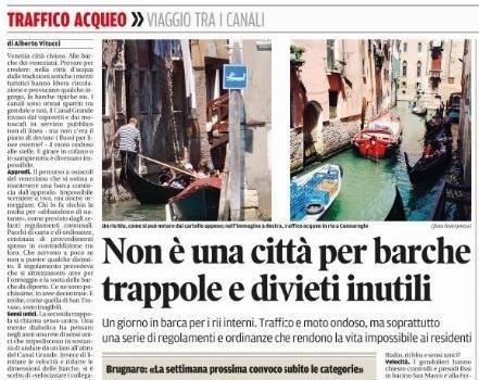 I rii di Venezia interdetti ai residenti