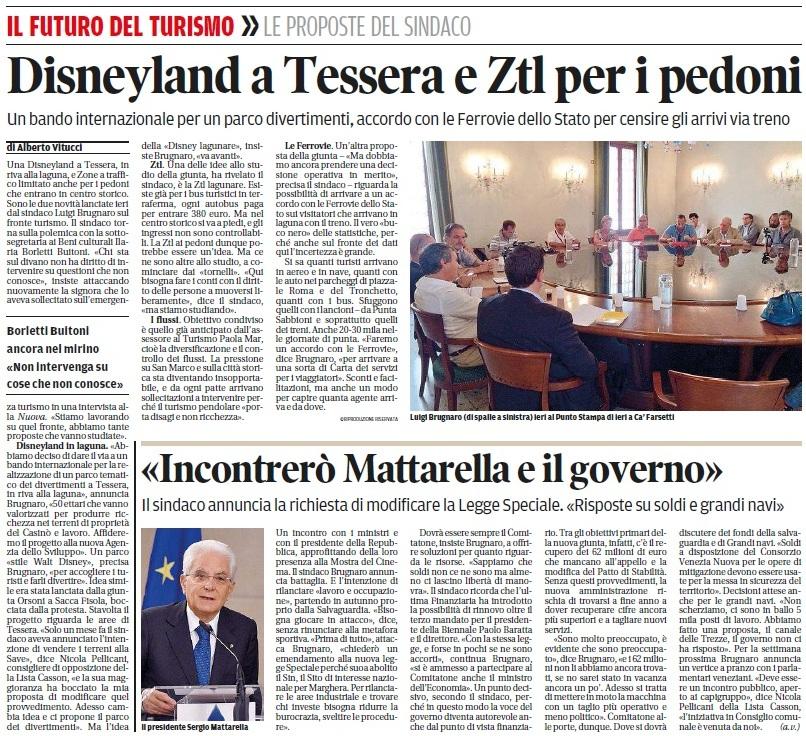 Disneyland a Tessera