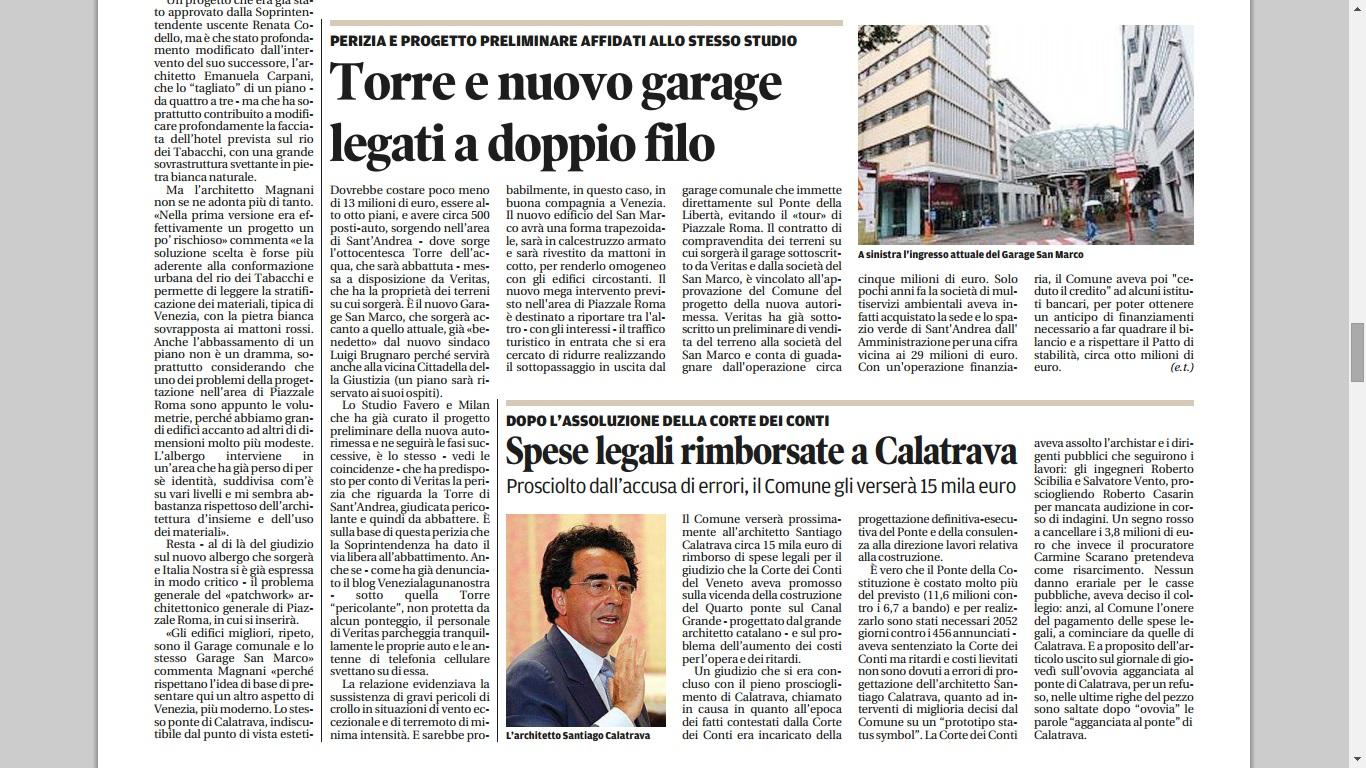 Garage San Marco ampliamento