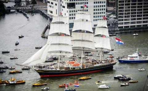 Le grandi navi antiche allo show di Amsterdam