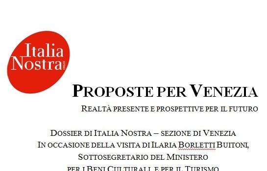 Le nostre proposte sul turismo presentate al governo