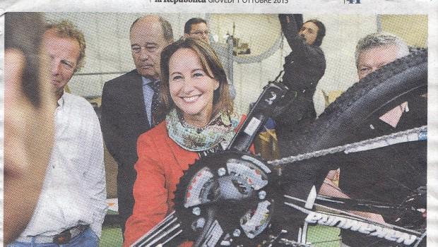 Parigi va in bici, Mestre in automobile