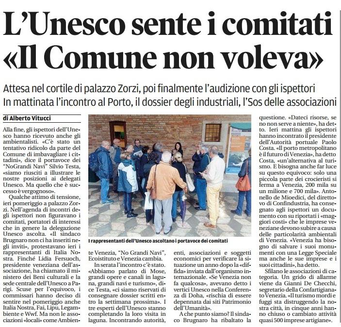 Unesco incontri 14 ott. Nuova