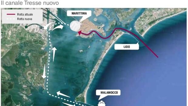 Sindaco e Porto vogliono le navi nel cuore della Laguna