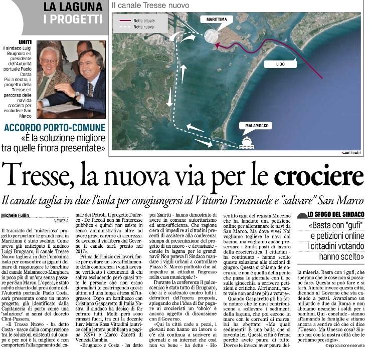 Tresse Nuovo Gazzettino