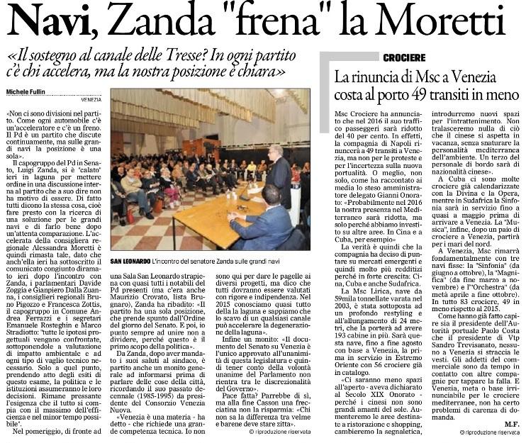 Zanda Gazzettino