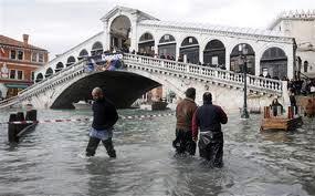 """Venezia andrà sotto, ma """"solo"""" di un metro"""
