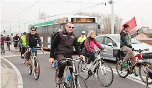 Ancora niente biciclette sul ponte della Libertà