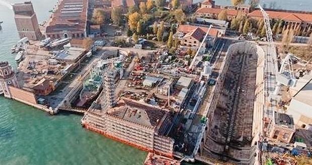 Arsenale, la Venezia ambientalista si ribella