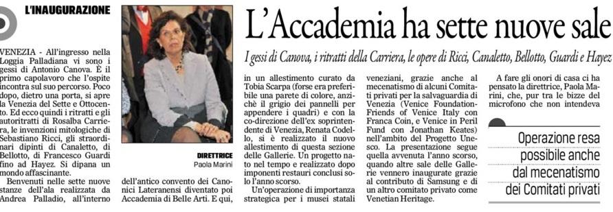 Accademia Gazz. 1