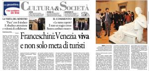 venezia non solo turisti  franceschini
