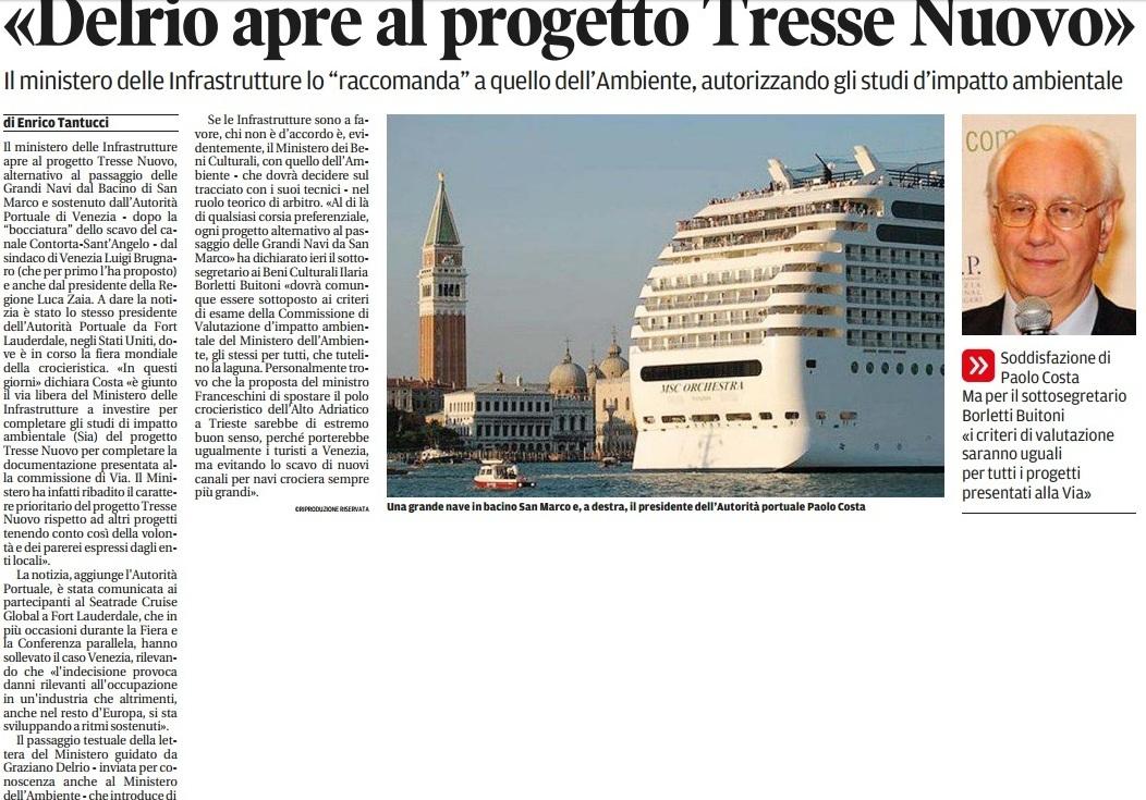Navi a Trieste