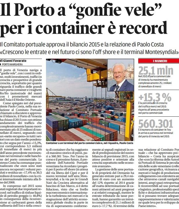 Container gronda