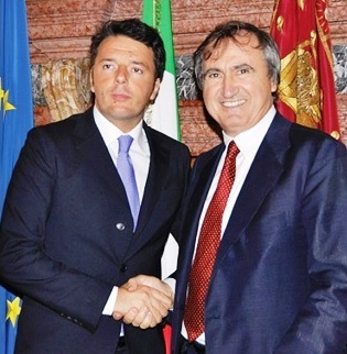 Brugnaro incontra Renzi ma fa le richieste sbagliate