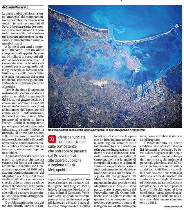 Laguna articolo