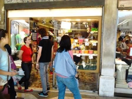 Affittare un negozio in centro a Venezia