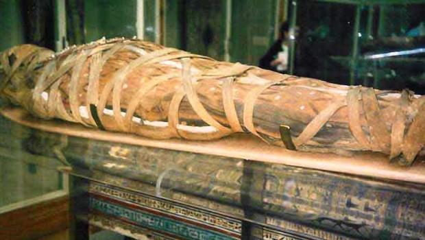 Da città a mummia, velocissimamente