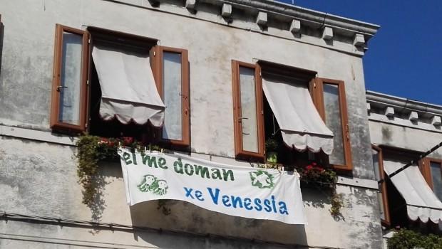 Veneziani alla riscossa per il loro futuro