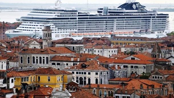 Venedig stirbt am Tourismus