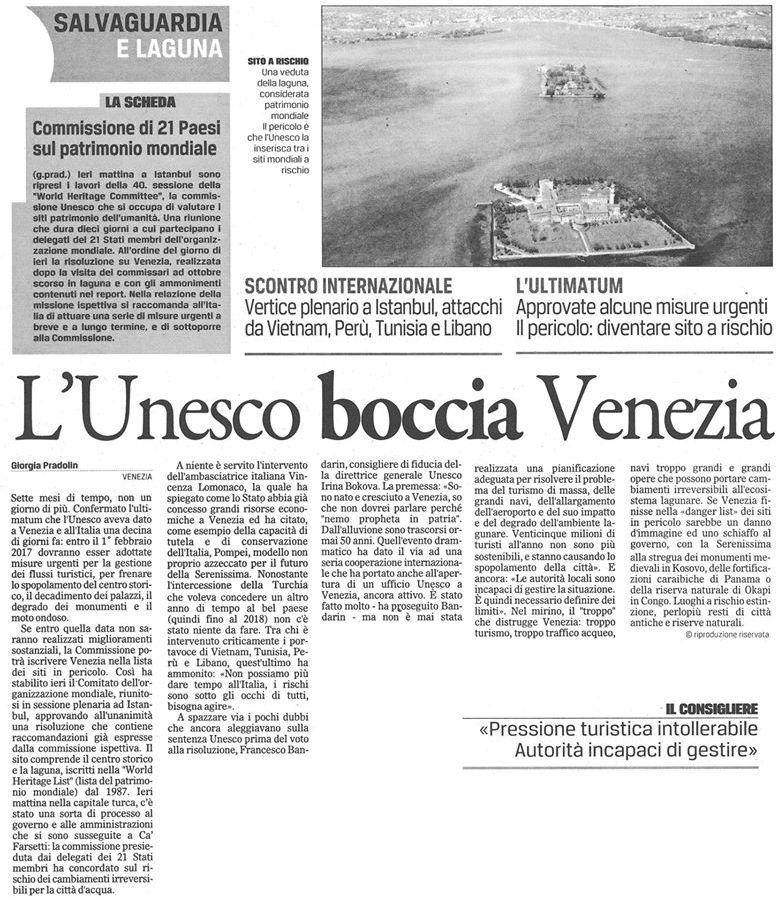 Unesco media Gazzettino