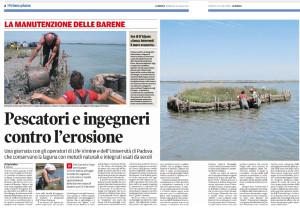 riteglio pescatori e ing contro l'erosione