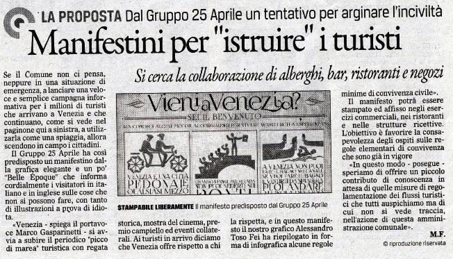 Manifestini Gazzettino