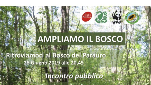 """Incontro pubblico a Mirano """"Ampliare il bosco"""""""