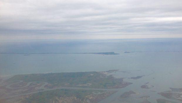 Visita di Italia Nostra all'isola Nuova delle Tresse