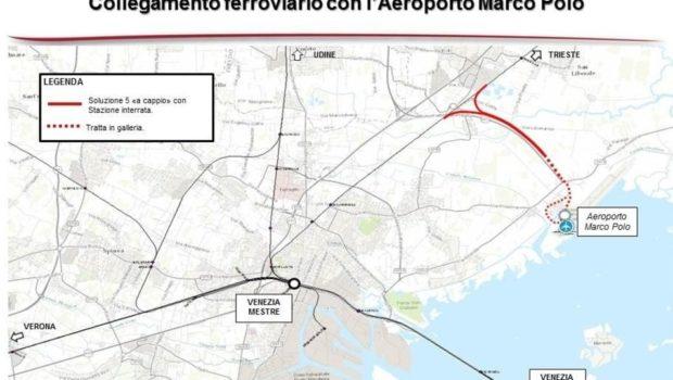 Lettera sul progetto di collegamento ferroviario con l'aeroporto di Tessera